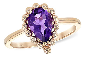 G189-67338: LDS RING 1.06 CT AMETHYST