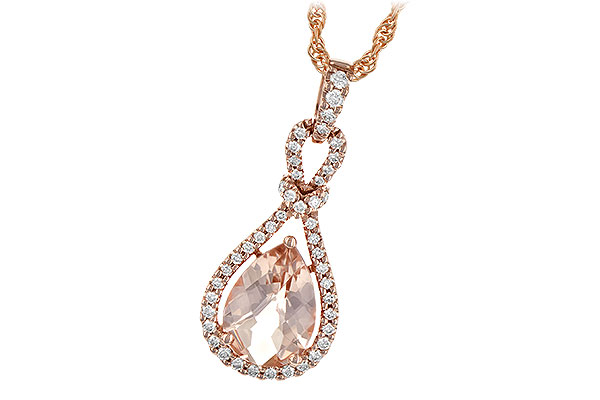 K190-54574: NECK 1.54 MORGANITE 1.75 TGW