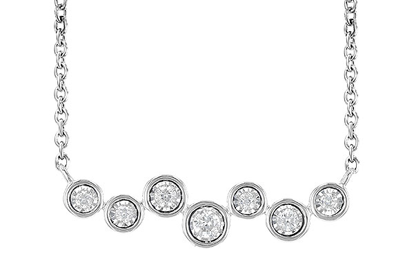 G190-60993: NECKLACE .13 TW